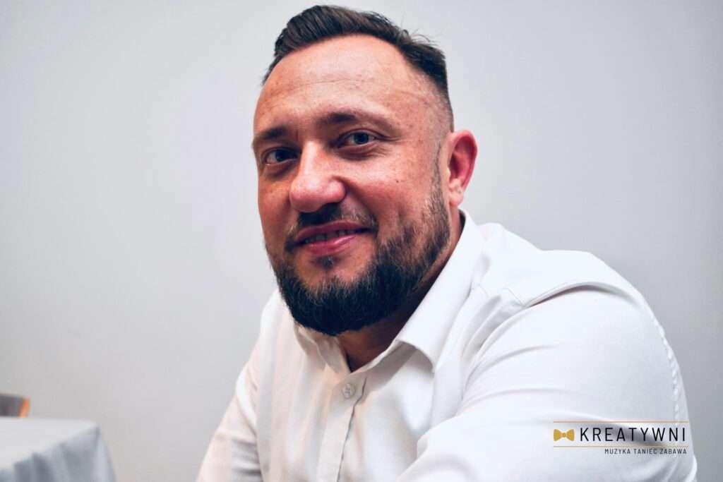 Sebastian Pączkowski Wodzirej weselny