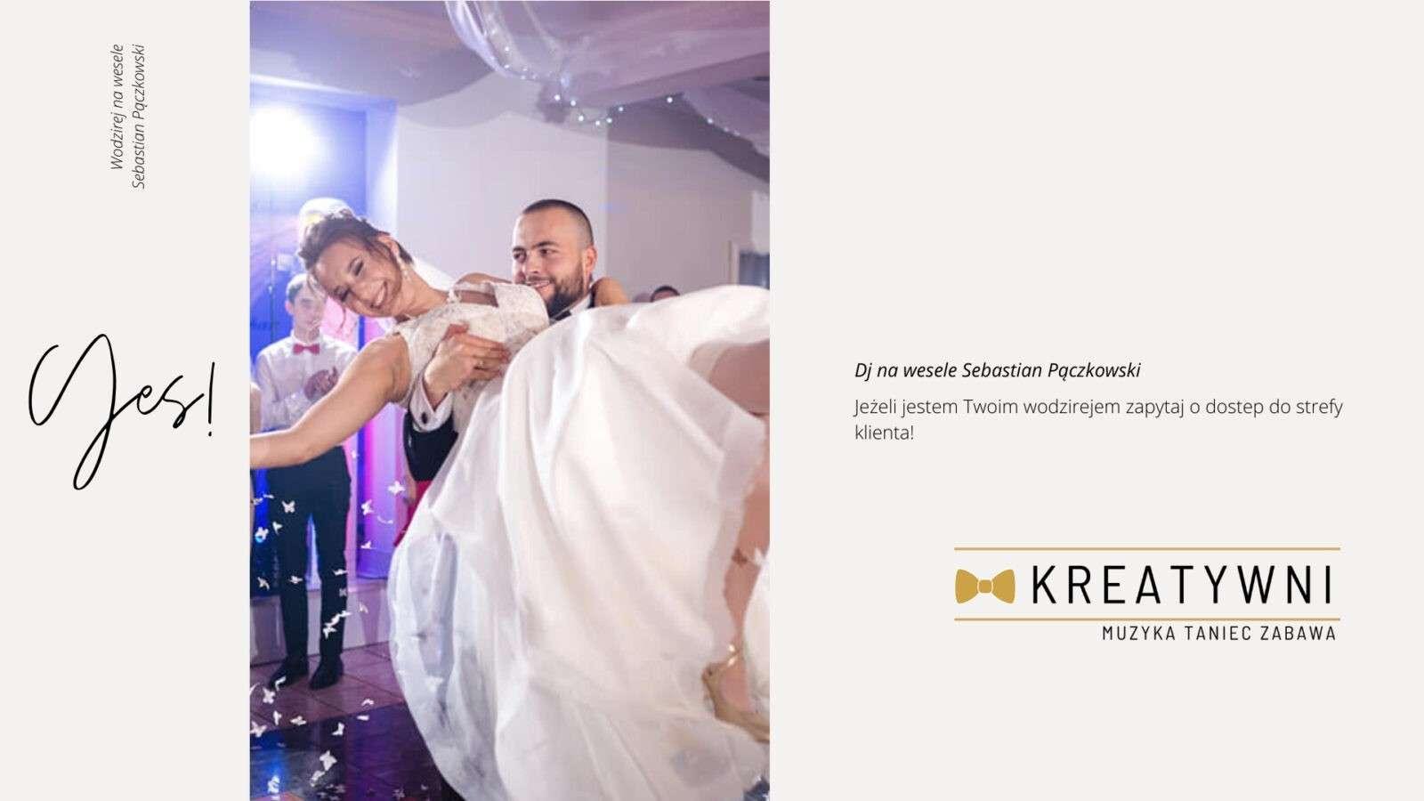 Dj wodzirej na wesele Sebastian Pączkowski